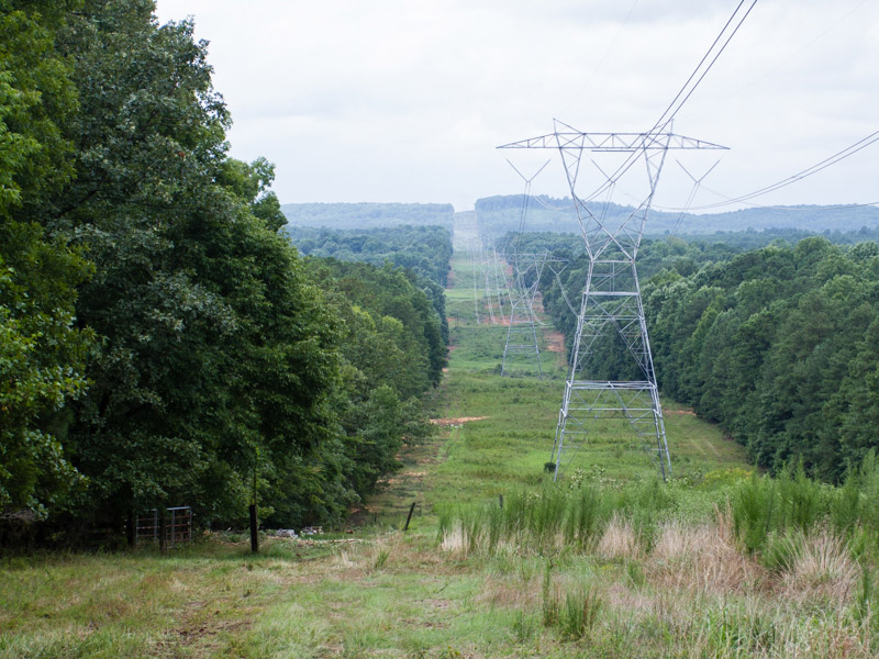transmission line 'right-of-ways'